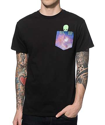 A-Lab Alien Kilroy Pocket T-Shirt