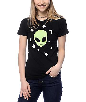A-Lab Alien Sky Black T-Shirt
