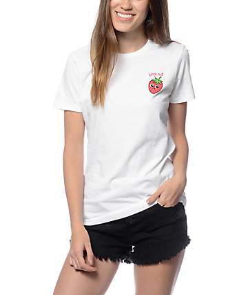 A-Lab Berry Cute White T-Shirt