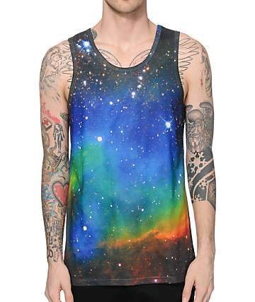 A-Lab Big Bang Galaxy Tank Top