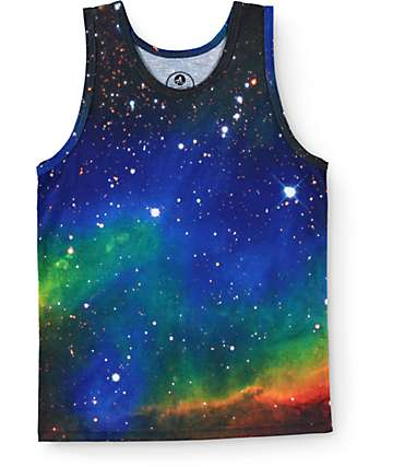 A-Lab Boys Big Bang Galaxy Tank Top