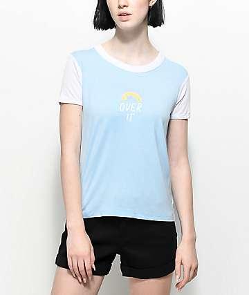 A-Lab Byrl Over It camiseta blanca y azul claro