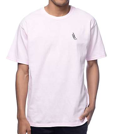 A-Lab Cellie Embroidered Pink T-Shirt