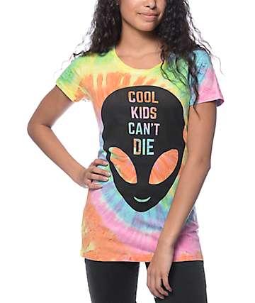 A-Lab Cool Kids camiseta en tenido anudado