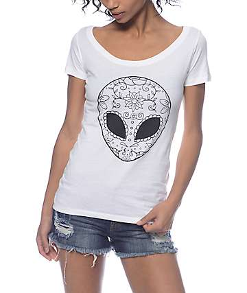 A-Lab Day Of The Alien Scoop T-Shirt