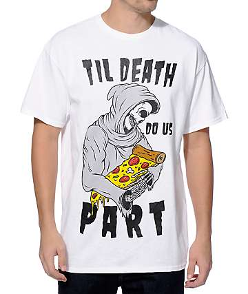 A-Lab Death Of Pizza camiseta