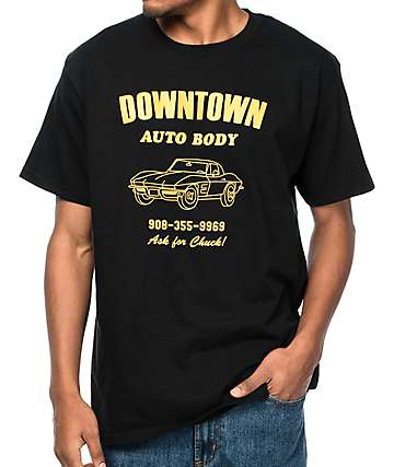 A-Lab Downtown Auto Body Black T-Shirt