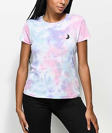 A-Lab Ezra Moon camiseta con efecto tie dye