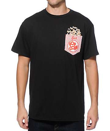 A-Lab Fresh Popcorn Pocket T-Shirt