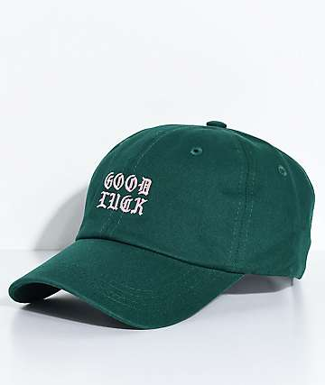 A-Lab Good Luck Green Strapback Hat