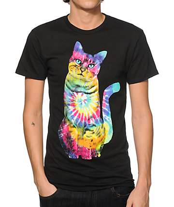 A-Lab Hippie Cat T-Shirt