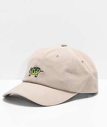 A-Lab I Like Turtles Khaki Dad Hat