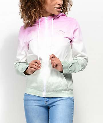 A-Lab Kenlie Pink & Mint Ombre Jacket
