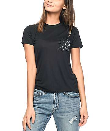 A-Lab Kito Alien Black Pocket T-Shirt