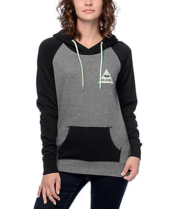 A-Lab Larissa Believer Black & Grey Hoodie