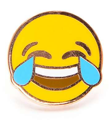 A-Lab Laughing Emoji Pin