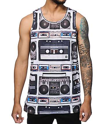 A-Lab Like The Boom Sublimated Tank Top