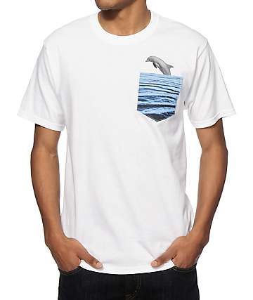 A-Lab Lil Dolphin Bud Pocket T-Shirt