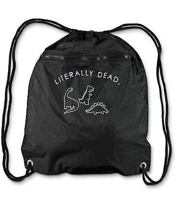 A-Lab Literally Dead bolso negro con cordón