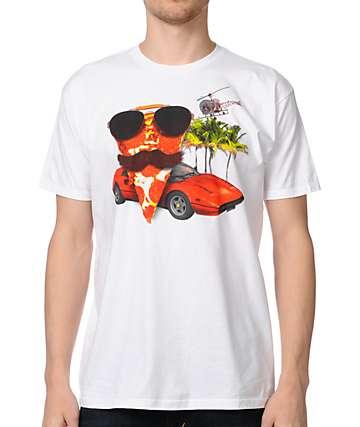 A-Lab Magnum PIzza White T-Shirt
