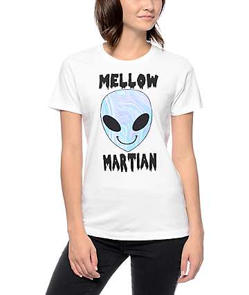 A-Lab Mellow Martian White T-Shirt