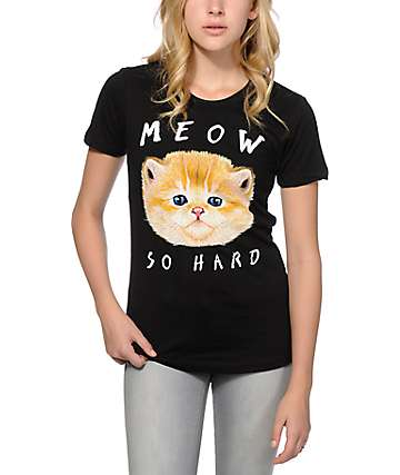 A-Lab Meow So Hard T-Shirt