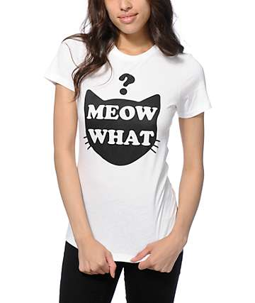 A-Lab Meow What T-Shirt