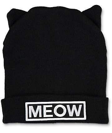 A-Lab Miss Meow gorro negro
