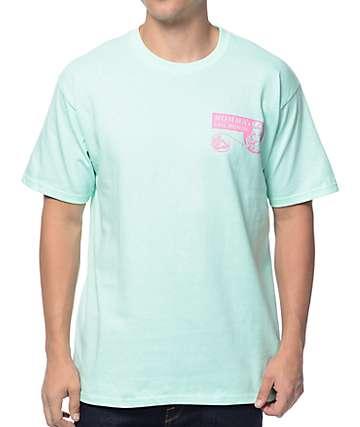 A-Lab Momma's Bail Bonds Aqua T-Shirt