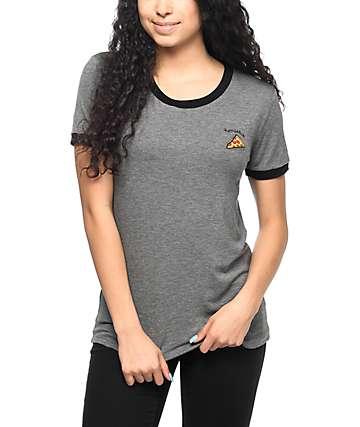 A-Lab Moody Homeslice camiseta en negro y gris