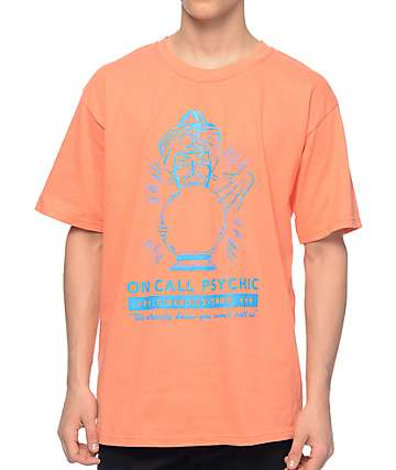 A-Lab On Call Psychic Coral T-Shirt