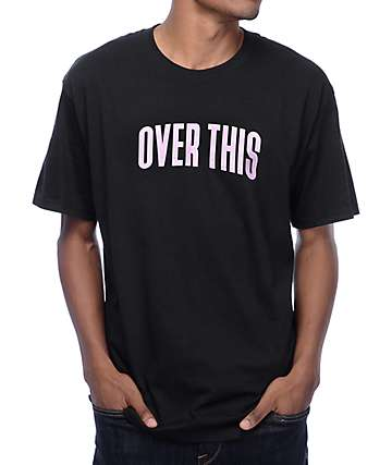 A-Lab Over This Black T-Shirt