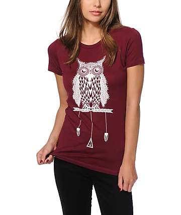 A-Lab Owl Eyes T-Shirt