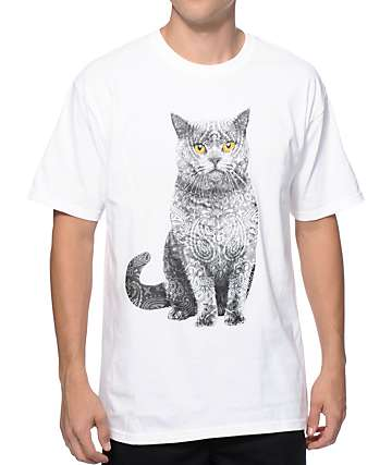 A-Lab Paisley Cat T-Shirt