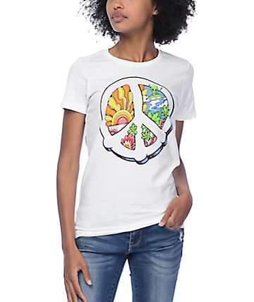 A-Lab Peace In Our Time White T-Shirt