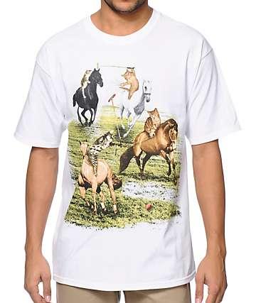 A-Lab Polo Cats White T-Shirt