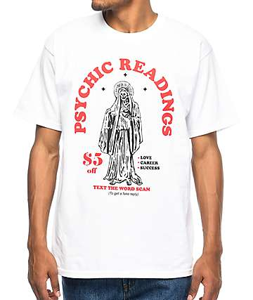 A-Lab Psychic Readings camiseta blanca
