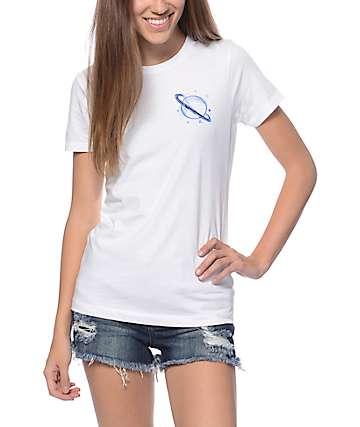 A-Lab Saturn Doodle Boyfriend T-Shirt