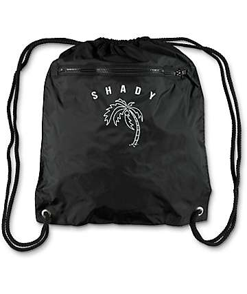 A-Lab Shady Black Cinch Bag
