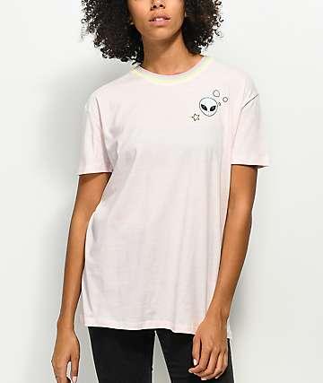 A-Lab Shannon Alien Pink T-Shirt