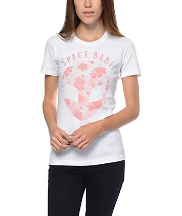 A-Lab Space Babe White T-Shirt
