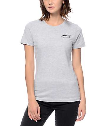 A-Lab Space Travel Boyfriend Grey T-Shirt