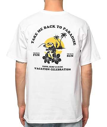 A-Lab Take Me Back White T-Shirt