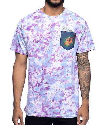 A-Lab Third Eye Cat Tie Dye T-Shirt