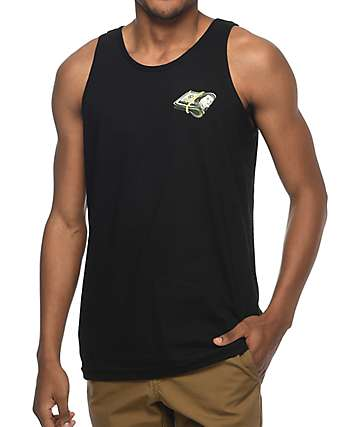 A-Lab Thousandaire Black Tank Top