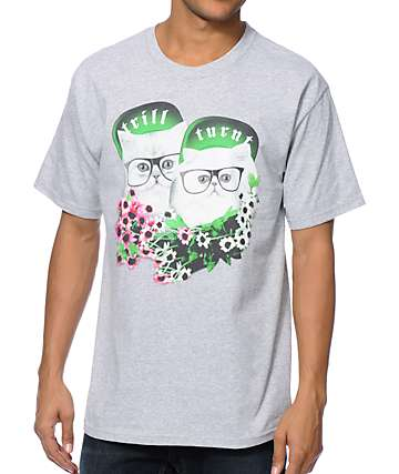 A-Lab Turnt Trill Grey T-Shirt