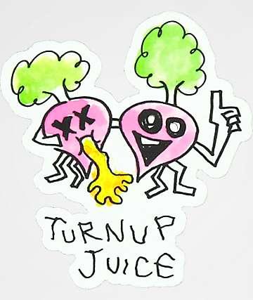 A-Lab Turnup Juice pegatina
