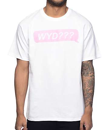 A-Lab WYD White T-Shirt