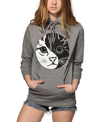 A-Lab Yin Yang Kitty Hoodie