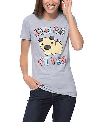 A-Lab Zero Pugs Given Grey T-Shirt